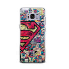 Marvel Superman Hero Cartoon Pattern Phone Case Cover For Samsung and Google