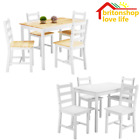 Panana Wooden Dining Table and 2 / 4 Chairs Dining Chair Set  Kitchen Furniture