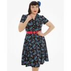LINDY BOP Cheshire CAT Lilith DRESS