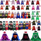 Внешний вид - .Superhero Cape (1 cape+1 mask) for kids birthday party favors and ideas