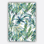 BOTANICAL Tropical PLANT Art Prints Scandinavian Modern Watercolour Collection