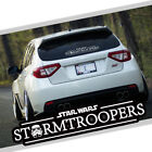 Star Wars Stormtroopers Car Auto Vinyl Decal Sticker Reflective Windshield New $8.5 USD