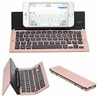 bluetooth keyboard foldable - Universal Ultra-Slim Foldable Bluetooth Portable Keyboard
