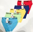 New 5 Kids Boys Cotton Brief Knickers Boyshort Underwear 4-10T (C302)