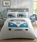 VW Volkswagen On Tour, Duvet Quilt Cover Set, Bedding Official Licensed
