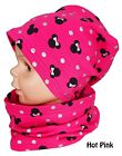 Baby Kids Boy Girl Hat And Tube Scarf Spring Autumn Cotton 2 pc Set 1-2-4-8 Year