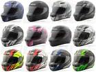 xx ff - Gmax FF49 Full Face Motorcycle Street/Road Helmet w/Shield / Visor DOT Approved