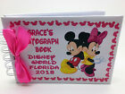 A6-Personalised Disney Autograph Book-Pocket Size HARDBACK PROTECTIVE COVERS g