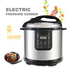 6/8/10/12QT Digital Multifunction Stainless Steel Electric Pressure Cooker