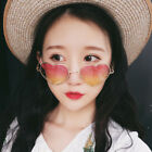 Women Girl Heart Shape Sunglasses Boho Festival Lolita Style Fancy Party Eyewear