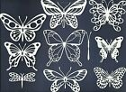 4 GROUPS COMBINED BUTTERFLY DRAGONFLY DIE CUTS* PUNCHIES* SUB-SETS LOT 3-36 PCS.