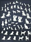 3 GROUPS COMBINED DOGS CATS PUPPY KITTEN DIE CUTS* SUB-SETS LOTS 6-44 PCS. READ