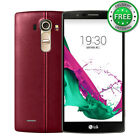 """LG G4 H810 32GB 16MP 4G LTE AT&T 5.5"""" Leather Back Unlocked Android Smartphone"""