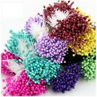 Внешний вид - 280pcs/set Mini Resin Double Heads Artificial Flower Stamen Sugar Craft Blue Hot
