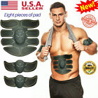 ABS Simulator Portable Ultimate Abdominal Muscle Toner Massage Workout AB Arm US