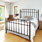 Historic Scratch-Resistant No-Tool-Assembly Metal Decorative Bed Frame by Bell'O