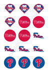 Philadelphia Phillies Edible Print Cupcake/Cookie Toppers Frosting Sheets 2 Size on Ebay