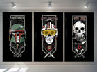 Poster,Oil Painting HD Canvas Giclee Print/Home Art Decoration Wall Star Wars 3P