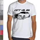 Mustang GT 4.6 Silhouette Custom Art Soft T-Shirt Multi Colors Boss Shelby Ford image