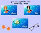 PERSONALISED GLASSES CLEANING CLOTH MERMAID DESIGN PERFECT GIFT IDEA