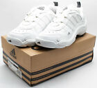 Adidas Men's Vintage 1999 Redemption Training Shoe 073183 White/Silver sz. 10.5