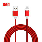 US 1M 2M 3M 2.4A Magnetic Micro USB Fast Charger Cable for Samsung Galaxy S6 S7