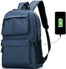 """Laptop Backpack College School Backpack with USB Charging Port Fit 15.6"""" Macbook"""