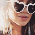 Heart Shaped SUNGLASSES fashion Shades Sunnies Shape Retro costume glasses