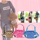 Portable Pet Carrier Dot Bag Dog Carrier Oxford Sling Bag Travel  Puppy Handbag