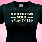 NORTHERN SOUL A Way Of Life Ladies T-SHIRT All Nighters Retro SKA Party