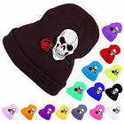 Classical Beanie Plain Lovely Hat Winter Warm Cap Slouchy Skull Rose Newest
