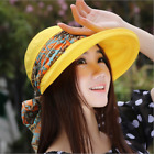 Latest Women Cute Hat Fashion  Cap Neck Face Wide Brim Visor Summer Anti-UV HOT