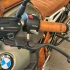 !!BEAUTIFUL!!  CAFE RACER Leather Motorcycle Grips Wrap Vintage Tan Triumph BMW $45.0 USD on eBay