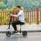 Adult High Speed Black Two Wheels Foldable Electric Kick Scooter USA FREE SHIP`