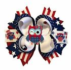 Patriotic Owl Boutique Hair Bow