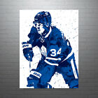 Auston Matthews Toronto Maple Leafs NHL Hockey Poster FREE US SHIPPING $14.99 USD on eBay
