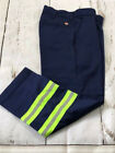 Внешний вид - New Red Kap Reflective Pants Hi Vis Safety Towing Navy Work Uniform PC20NV