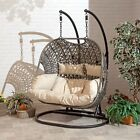 Cocoon Hanging Egg Chair Brampton With Cushion Rattan Wicker Style Free Delivery
