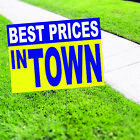 best price on side by side refrigerator - Best Prices In Town Shops Discount Promotional Advertising Coroplast Yard Sign