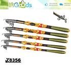 Professional Carbon Telescope Portable Fishing Rod Travel 5.4ft-9.04ft Spinning