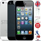 Apple iPhone 5  - 16GB 32GB 64GB - Unlocked SIM Free Black White TOP UK SELLER