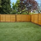 Garden Wooden Fence Panels - Waney Edge, 3x6, 4x6, 5x6, 6x6, Dip Treated