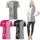 New Womens Top T-Shirt Paris Armour Slogan Print Ladies Short Sleeve Casual Tee