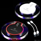 Qi Wireless Fast Charger Pad Charging Dock for iPhone X iPhone 8 Galaxy Note S8