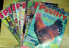 Practical Poultry Magazine-Chicken-Ducks-Game-Goose-Quail-Rabbits-#1 to 9 2004