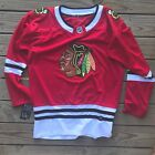 NWT Chicago Blackhawks NHL Hockey Red Stitched Jersey Mens