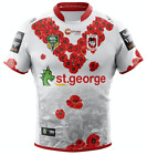 St George Dragons 2018 Commemorative Anzac Jersey Sizes S - 5XL NRL XBlades