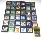Vintage & Authentic Gameboy Color Games Lot ~ Play on GBC GBA SP ~ Donkey Kong