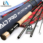 Maxcatch Saltwater Rod 8/9/10wt 9ft Graphite IM10 Fast Action Fly Fishing & Tube