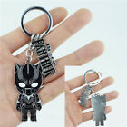 Black Panther King T'Challa Pendant Keychain Marvel Avengers Key ring Cosplay